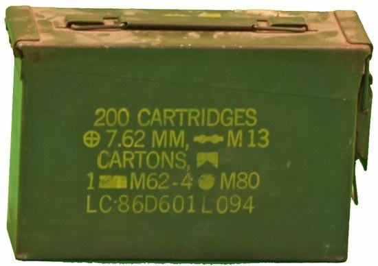 Ammo Can<div style='clear:both;width:100%;height:0px;'></div><span class='cat'>Army Military </span>